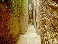 Lanes of Girona Jewish District or Call