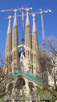 Western Gate of Sagrada Familia Church
